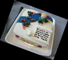 Baptism/ Christening cake