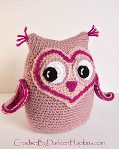 Ravelry: Owl Always Love You Amigurumi pattern by Darleen Hopkins