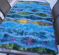 java batik fresh waves   New Wave Batik Quilt - QUILTING   Quilty by association   Pinterest