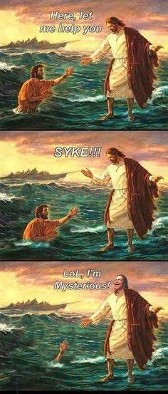 Psych!!!  Oh Jebus ...