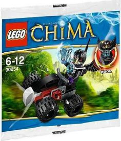 Amazon.com: LEGO Legends of Chima Razcal's Double Crosser 30254: Toys & Games