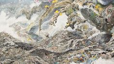 Japanese Artist Spends 3+ Years Drawing Massive, Incredibly Detailed Tsunami - Creators