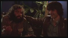 Richard Manuel and Rick Danko of the Band from The Last Waltz.