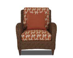Klaussner Outdoor Outdoor/Patio Palmetto Chair W1400 C - Klaussner Outdoor - Asheboro, NC