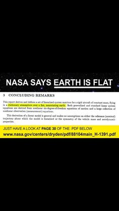 They've become so overconfident they have us all fooled that they slip up. Follow the link to twitter then to the NASA PDF page 30