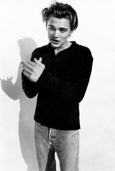 Let's be real. I will never get enough of young Leo.