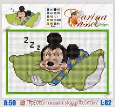 Olá! Hoje os ratinhos mais clássicos e amados pelas crianças na versão baby by Carina Cassol