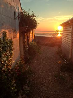 A Whitstable sunset...