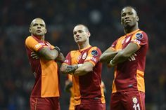 Drogba, Sneijder and Melo are Galatasaray stars to watch Pose For The Camera, Sylvester Stallone, Utrecht, Champions League, Manchester United, Ronald Mcdonald, Milan, Nfl, Poses