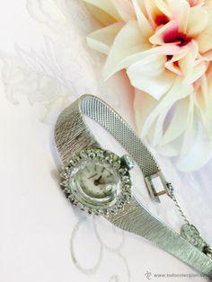 Reloj Sandoz de oro blanco y diamantes - Foto 1