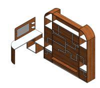 Lit relevable, Collection FLUX, Marque Griffon Technologies, design by Pierre Furnemont design Studio