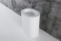 Oio wash basin - Designer Single washhand basins by Antonio Lupi ✓ Comprehensive product & design information ✓ Catalogs ➜ Get inspired now Exterior Design, Interior And Exterior, Basin, Bathroom, Alchemy, Drinking Fountain, Minimalist Bathroom, Products, Washroom