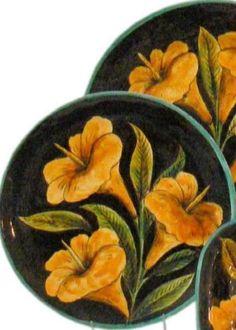 Rustica Gift & Pottery Alcatraz large Talavera pottery platter