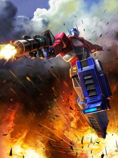 Optimus Prime: That John-Wayne-esque voice. That iconic mask. His totally kickass laser axe. The leader of the Autobots is one of the great all-time Transformers characters, for sure.