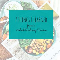 Lessons From A Meal Delivery Service Plus 30 Off