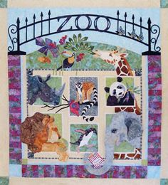 Zoo It Yourself Block of the Month