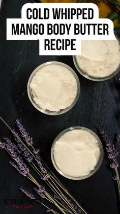 Diy Body Butter, Shea Butter, Whipped Body Butter, Mango Butter Recipe, Sugar Scrub Recipe, All Natural Skin Care, Natural Hair, Diy Body Scrub, Soap Recipes