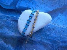 ΒΕΡΓΟΥΛΕΣ Friendship Bracelets Designs, Bracelet Designs, Macrame Bracelets, Knots, Turquoise Necklace, Braids, Jewelry, Patterns, Ideas