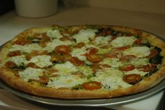 The Upper Crust Cucine in New Milford, CT. this place has the best pizza.  and they only use Fresh ingredients. boun Appetit