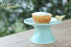 "Meyer Lemon Muffins ... A wonderful recipe from this blog, ""Food Librarian""."