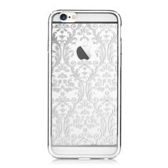 Coque iPhone 6 / 6s Crystal Baroque - Argent