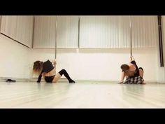 Pole dance choreography - Imagine dragons/Radioactive (Maja Pirc & Teja Burgar) - YouTube