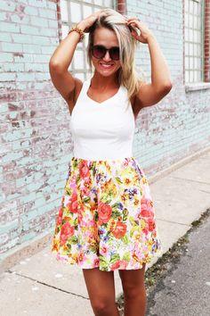 Sweet Pea Flare Dress