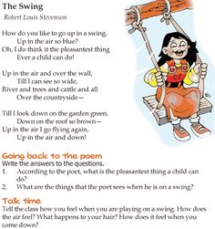 Grade 4 Reading Lesson 10 Poetry - The Swing (1)