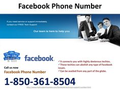 How to save posts via dialing Facebook Phone Number @1-850-361-8504? Facebook has recently launched a new feature via which you can save any post which you want to use for future. To avail that feature, you are suggested to make a call on our toll-free Facebook Phone Number @1-850-361-8504 and get united with our techies. Our technicians will train you for the same thing in a detailed manner. http://www.mailsupportnumber.com/facebook-technical-support-number.html