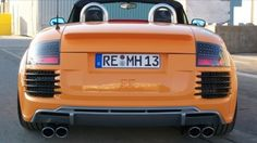 Audi Tt, Mk1, Cars And Motorcycles, Orange, Vehicles, Vehicle, Tools