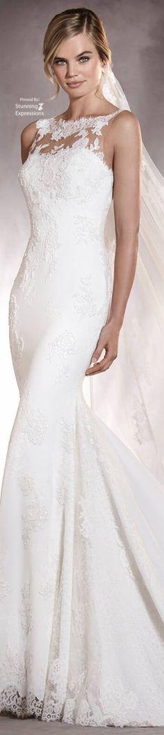Pronovias 2017 Wedding Dresses - World of Bridal Berta Bridal, Bridal Gowns, Wedding Gowns, Lace Wedding, Amazing Wedding Dress, Wedding Dress Styles, Wedding Pics, Dream Wedding, Wedding Things