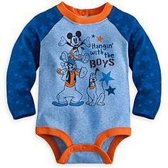 Mickey Mouse and Friends Disney Cuddly Bodysuit for Baby | Disney Store