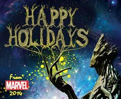 Happy Holiday from Groot