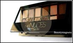 Giveaway-The Nudes Palette by Maybelline New York!