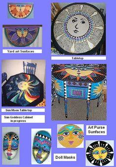 Painted Furniture samples    http://paintedfurnitureideas.com/