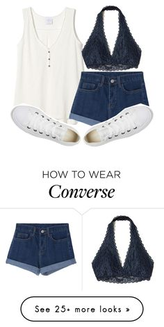 """""""love is old, love is new, love is all, love is you ❤️"""" by sydthekyd01 on Polyvore featuring Hollister Co. and Converse"""
