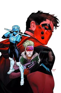 Dc Comics Art, Marvel Dc Comics, Comic Books Art, Comic Art, Dan Mora, Batman Red Hood, Red Hood Dc, Art Of Dan, Red Hood Jason Todd