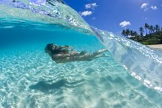Wanna take a dip? Oahu, Hawaii, Ah! To swim in clear water like that! :D
