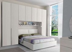 Letto Matrimoniale Incassato Nellarmadio : Best stanze da letto matrimoniali images bedroom