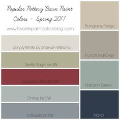 Who loves looking at Pottery Barn catalogs for inspiration? I know I do, and I love looking at the paint colors that are chosen for each space. It's fun to see how they put the rooms togethe…