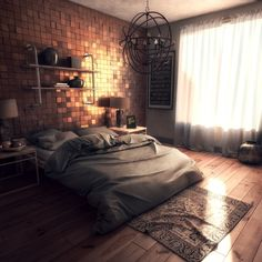 ModernHome_Bedroom by Zachary Lane | Architecture | 3D | CGSociety
