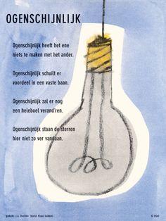 gedicht: J.A. Deelder / beeld: Klaas Gubbels ⓒ plint