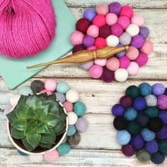 Make Your Own Felt Ball Coasters   Blogger Network   Minerva Crafts