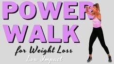 🔥40 MIN FAT BURNING POWER WALK🔥SUPERSONIC/EXPLOSIVE/FULL BODY/FAT BLASTING POWER WALK🔥LOW IMPACT🔥 - YouTube Lower Body Fat, Full Body, Super Powers, Glutes, Workout Videos, Fat Burning, Fitness Tips, Cardio, Burns