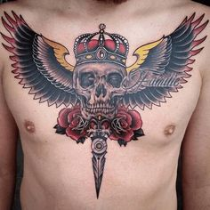 20 Ideas for tattoo ideas hombre art ink Arrow Tattoos, Skull Tattoos, Foot Tattoos, Forearm Tattoos, Cool Chest Tattoos, Chest Piece Tattoos, Skull Tattoo Design, Tattoo Designs, Tattoo Ideas