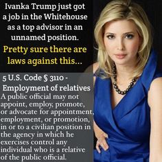 they don't feel that rules or laws apply to them-- nepotism, emolument, constitution Satire, Religion, Ignorant, Thing 1, Republican Party, Ivanka Trump, Humor, Social Justice, Donald Trump