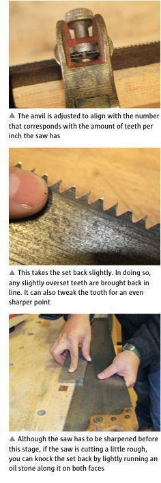 Saw Sharpening Masterclass - Part 1 - Hand tools