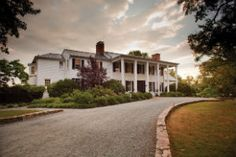 """The Clifton Inn: A favorite place to stay, dine, and a favorite place to enjoy """"Yappy Hour"""" on Thursdays in Charlottesville, VA.  Bring your pup and sip drinks on the front lawn! 5:30-7:30pm."""
