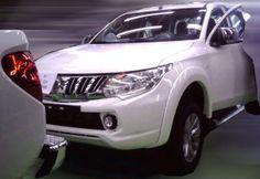 2014 Mitsubishi Triton – toned down Concept GR-HEV