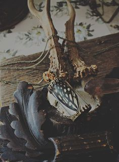 Butterfly Apothecary Pendant Victorian Penny by MoonMagickSisters